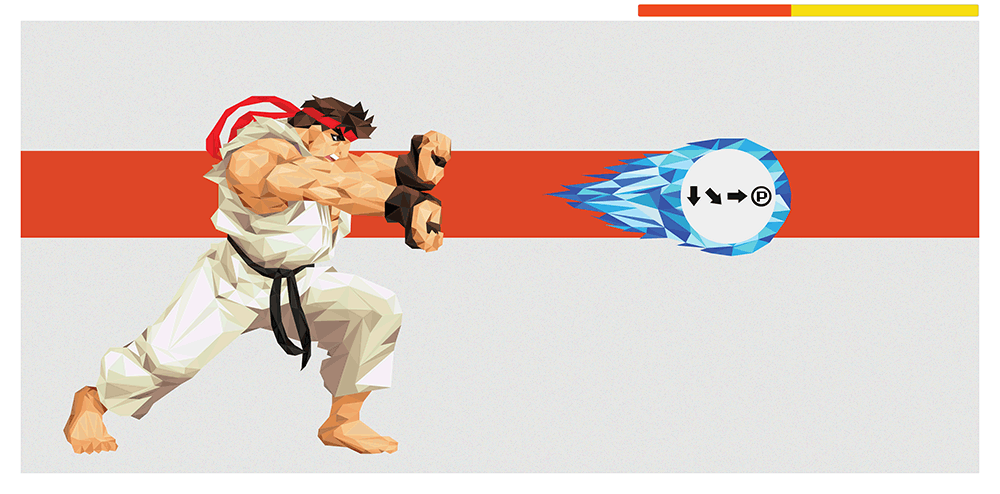 """Hadouken! - Ryu"" by Andy Duke - Hero Complex Gallery"