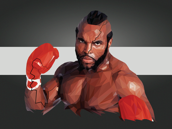 """I Pity The Fool"" by Andy Duke - Hero Complex Gallery"