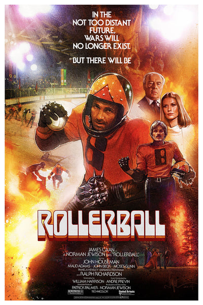 """Rollerball"" Large by Paul Shipper - Hero Complex Gallery  - 1"