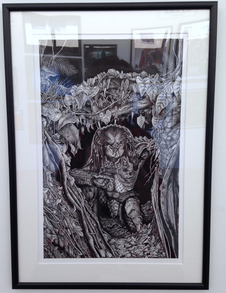 "A Tribute to Stan Winston: ""Predator"" Original by Liam Atkin - Hero Complex Gallery  - 2"