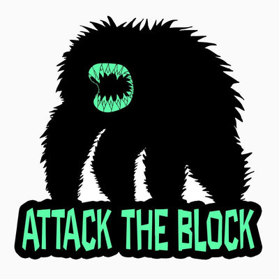 "587. ""Attack the Block"" Pin by Hellraiser Designs"
