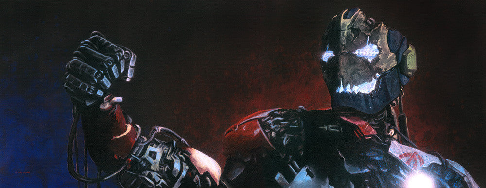 """Ultron... in the flesh"" Original by Tony Hodgkinson - Hero Complex Gallery"