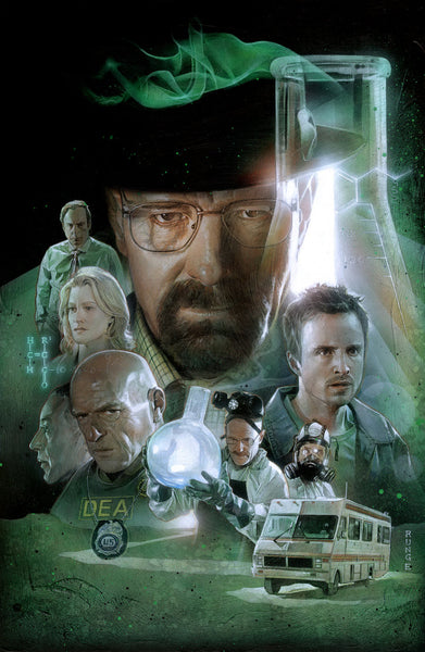 """Breaking Bad"" by Nick Runge - Hero Complex Gallery"