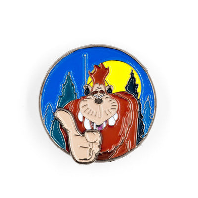 "638. ""Groovin Bigfoot"" Sliding Pin by Little Shop of Pins"