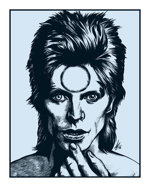 """We Spoke Of Was And When (Bowie, One)"" Variant by Jason Brown - Hero Complex Gallery"