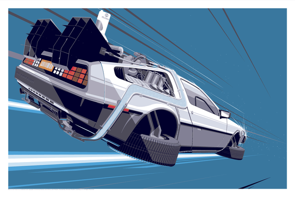BTTF 2 - Paper Color Variant by Craig Drake - Hero Complex Gallery