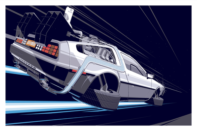 BTTF 2 - Regular Edition by Craig Drake - Hero Complex Gallery