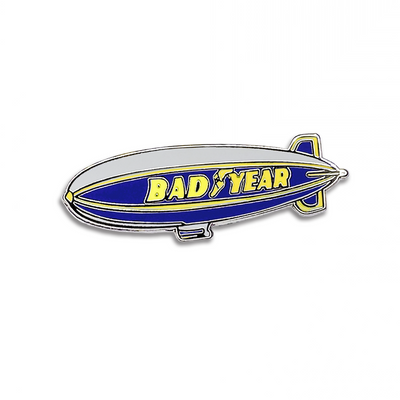 "181. ""Bad Year Blimp"" Pin by Nerdpins"