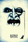 """Batman Returns"" Large by Benedict Woodhead"