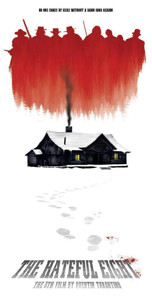 """The Hateful Eight"" by Benedict Woodhead - Hero Complex Gallery"