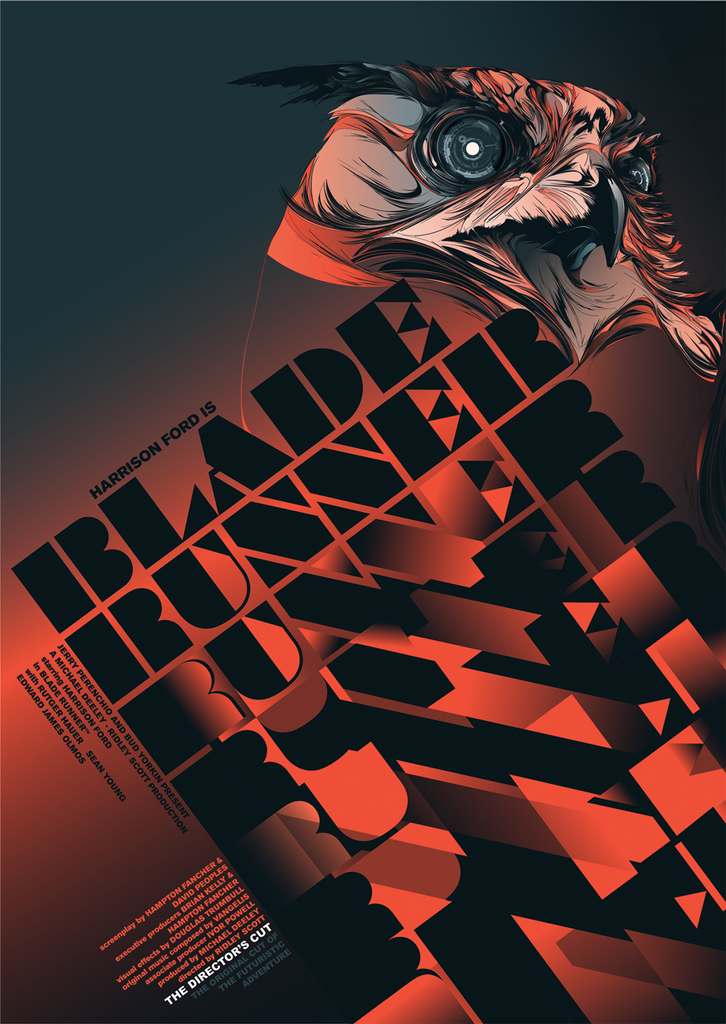 """Blade Runner"" Director's Cut by Kako and Carlos Bela - Hero Complex Gallery"