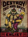 """Destroy This Mad Brute"" by Ali Castro - Hero Complex Gallery"