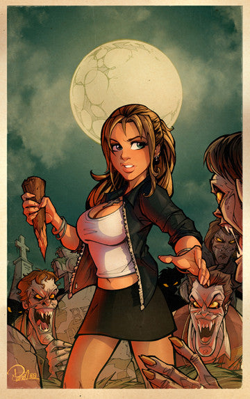 """Buffy The Vampire Slayer Love at First Bite"" by Brett Parson - Hero Complex Gallery"