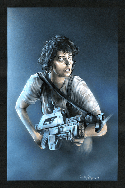 """Ripley"" Original by Brian Hebets - Hero Complex Gallery"