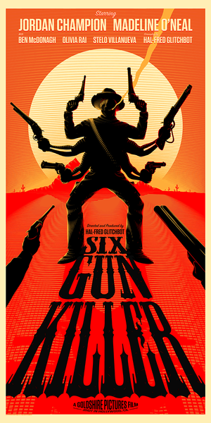 """Six Gun Killer"" by Bruce Yan - Hero Complex Gallery  - 1"