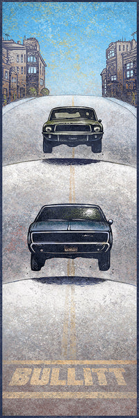 """Bullitt"" by Chet Phillips - Hero Complex Gallery"