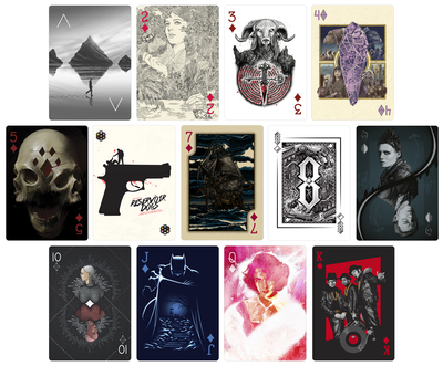 CARDISTRY Playing Cards - Hero Complex Gallery  - 4