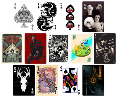 CARDISTRY Playing Cards - Hero Complex Gallery  - 3