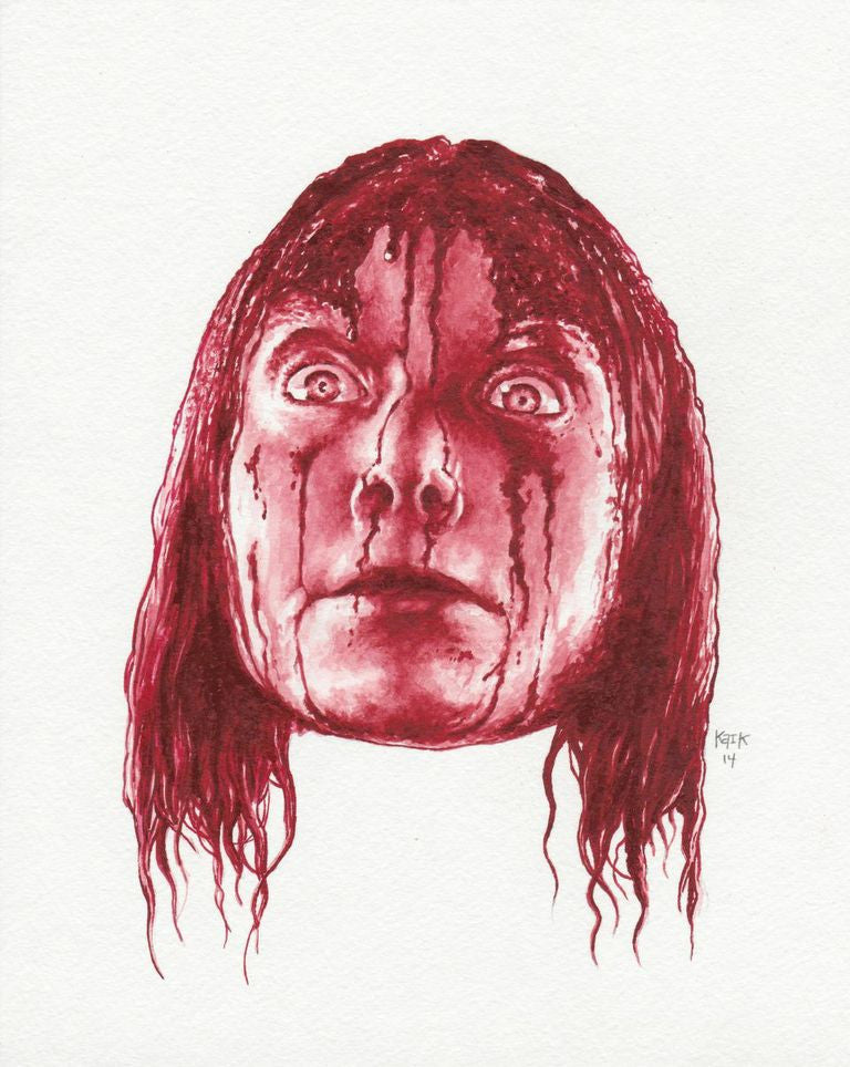 """Carrie White"" Print by Eugene Kaik - Hero Complex Gallery"