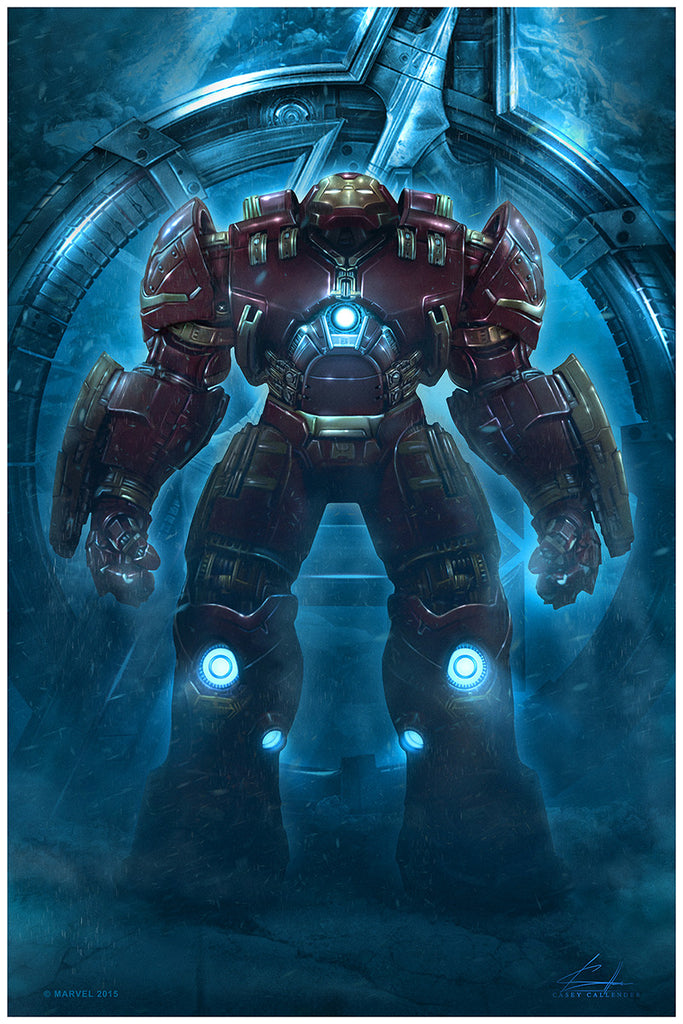 """Hulkbuster"" by Casey Callender - Hero Complex Gallery"