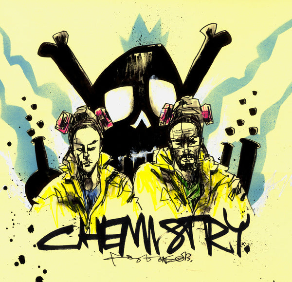 """CHEMISTRY"" by Jim Mahfood - Hero Complex Gallery  - 1"
