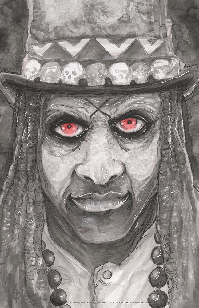 """Papa Legba"" by Chris Oz Fulton - Hero Complex Gallery"