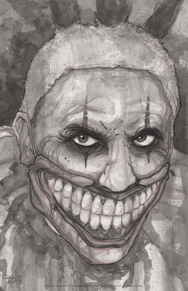 """Twisty The Clown"" by Chris Oz Fulton - Hero Complex Gallery"