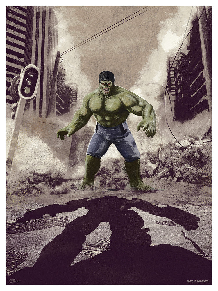 """Hulk Smash!"" by Chris Skinner"