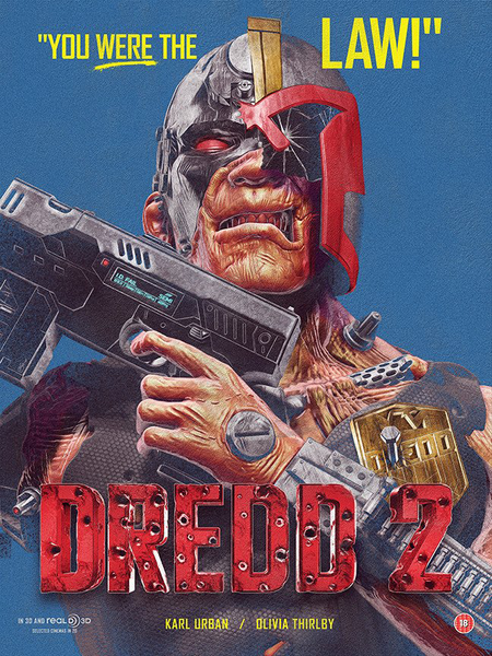 """Dredd 2"" by Chris Skinner"