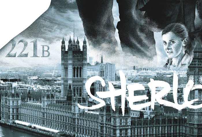 """Sherlock"" by Tom Miatke - Hero Complex Gallery  - 5"