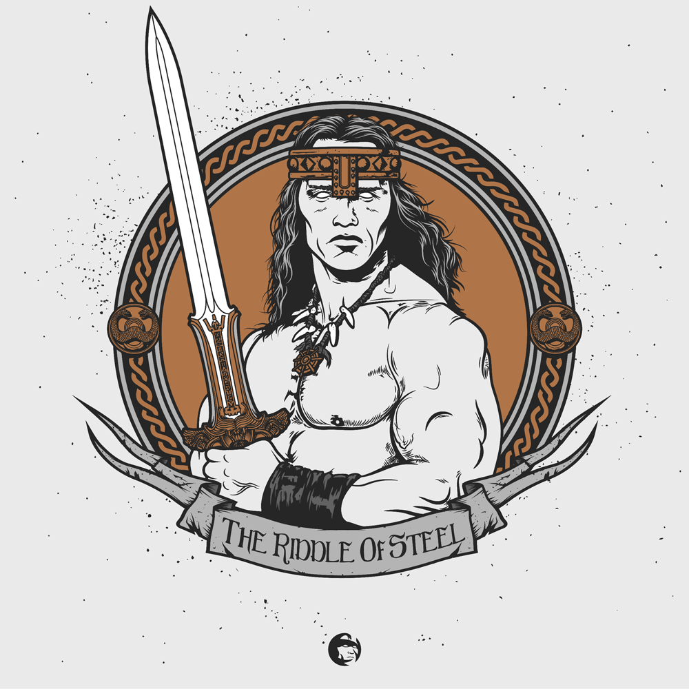 "King of Clubs: ""King Conan"" Handbill Set by Patrick Connan - Hero Complex Gallery  - 4"