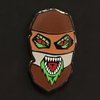 """Mask Gremlin"" Pin by Rhys Cooper - Hero Complex Gallery"
