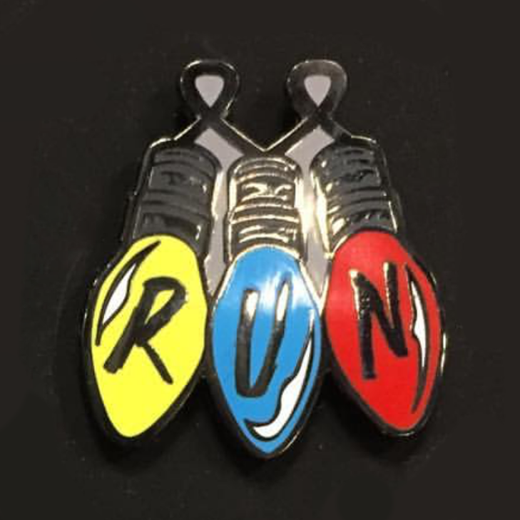 """RUN"" Pin by Rhys Cooper - Hero Complex Gallery"