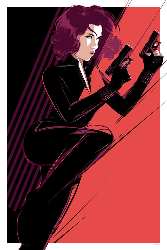 """Black Widow"" by Craig Drake - Hero Complex Gallery"