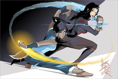 """The Legend Of Korra"" AP by Craig Drake"