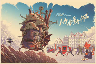 """Howl's Moving Castle"" by Cristian Eres"