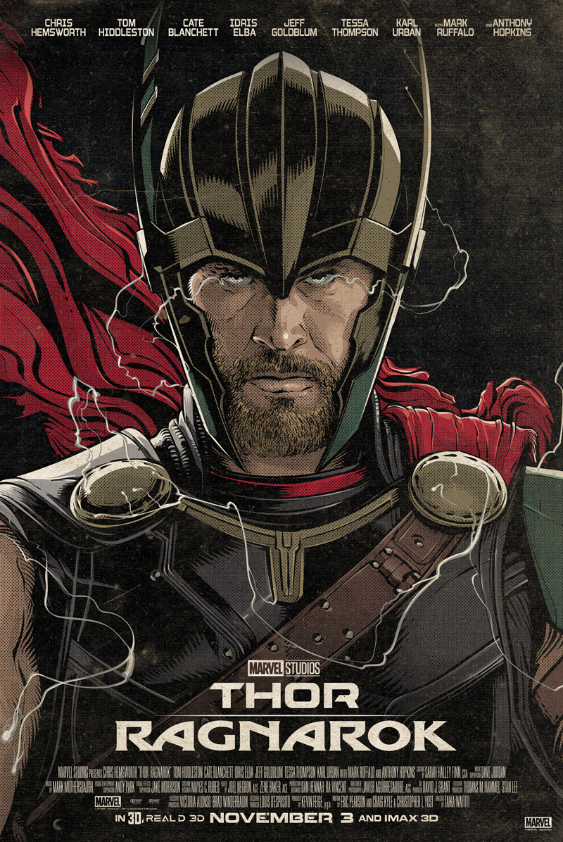 Stan Lee Hero Complex Gallery Thompson Contender Schematics Thor The By Cristiano Siqueira