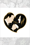 Gomez and Morticia Pin by Cryssy