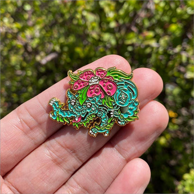 "790. ""Thai Style Venusaur"" Pin by Cryssy"