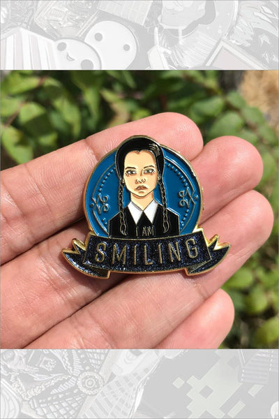Wednesday (Gold) Pin by Cryssy