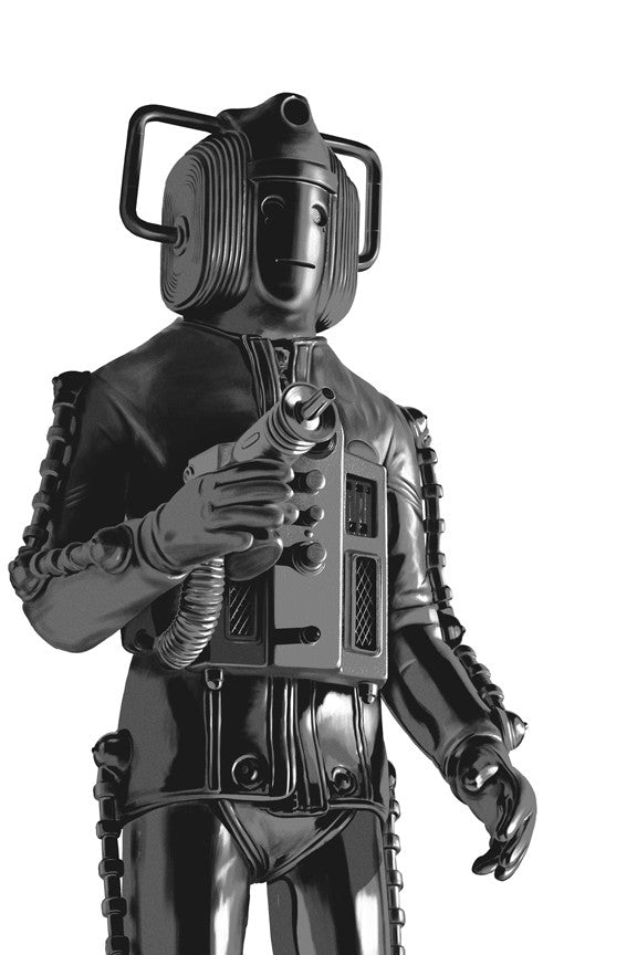 "Bigger on the Inside: ""Cyberman"" Large by Andrew Swainson - Hero Complex Gallery"