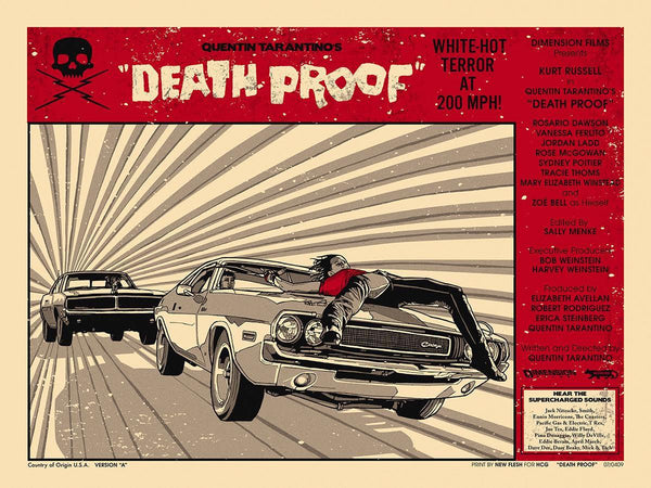 """Death Proof"" Variant by New Flesh"