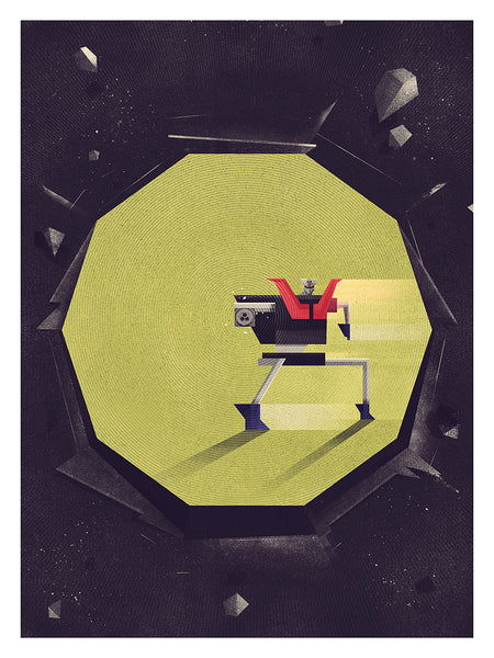 """Rocket Punch"" by Dan Matutina $50.00 - Hero Complex Gallery"