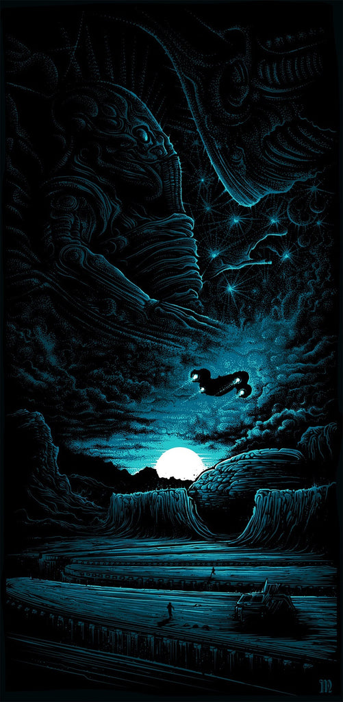"""LV-223"" by Dan Mumford - Hero Complex Gallery"