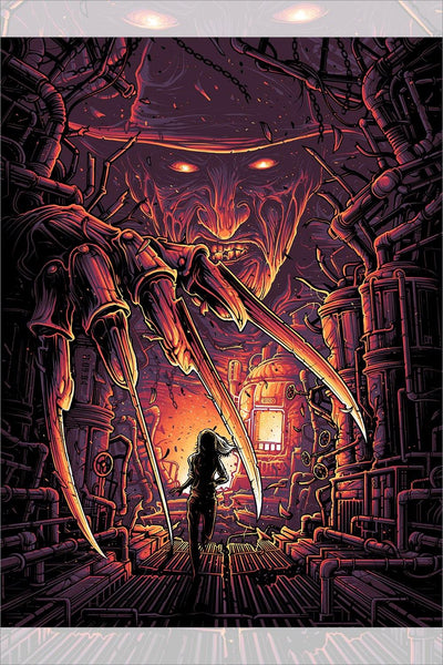 """One, Two, Freddy's Coming For You"" by Dan Mumford"