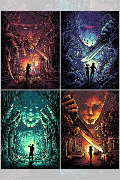 """Horror Icons Set"" by Dan Mumford"