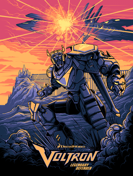 """Legendary Defender"" Variant by Dan Mumford - Hero Complex Gallery"