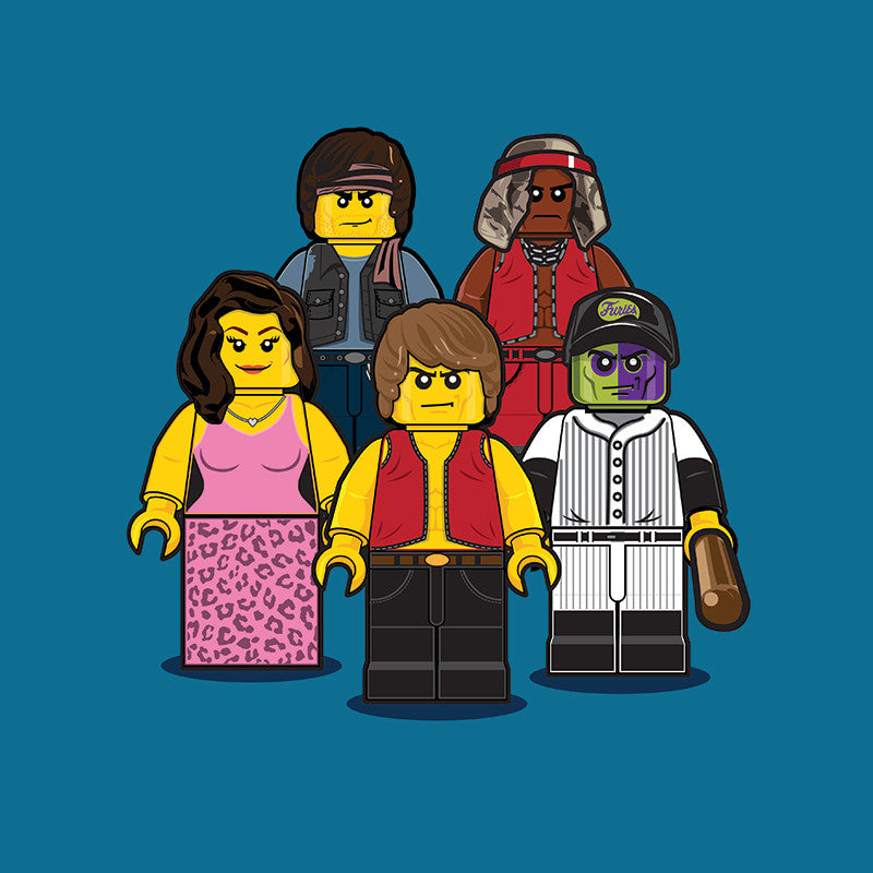 """LEGO Group 1 Warriors"" by Dan Shearn"
