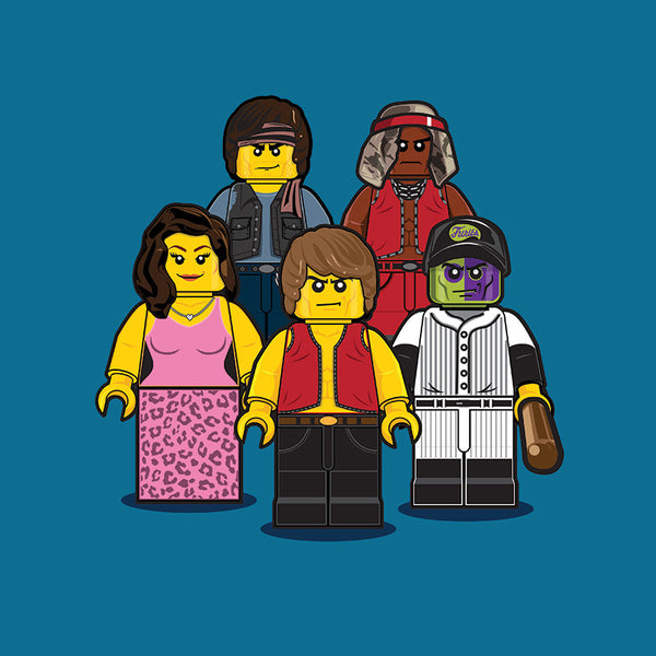 """LEGO Group 1 Warriors"" by Dan Shearn - Hero Complex Gallery"