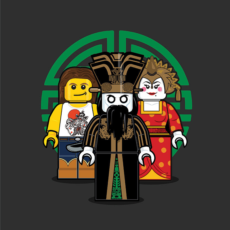 """LEGO Group 2 Big Trouble in Little China"" by Dan Shearn - Hero Complex Gallery"